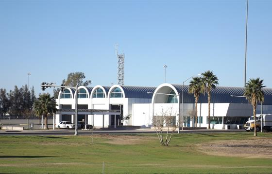 Exterior Photo of Calexico Commercial Vehicle Enforcement Facility