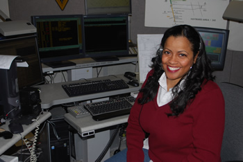 Public Safety Dispatcher Angelia Baker's Picture