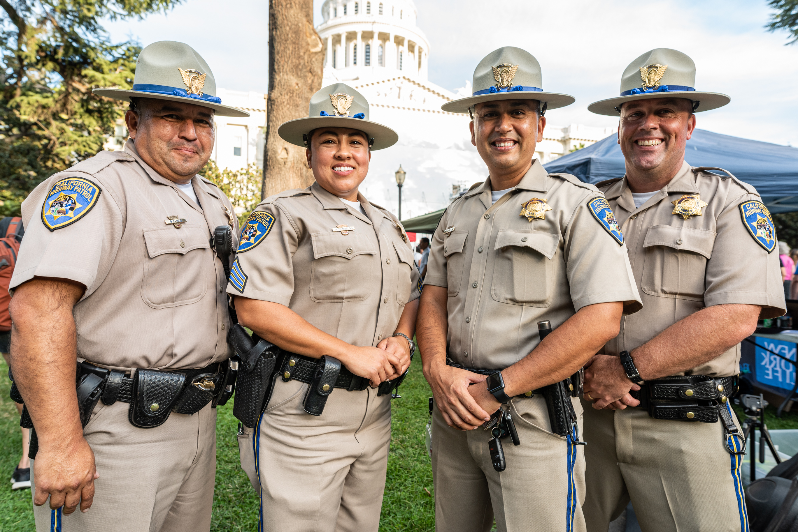 Officers at State Capitol