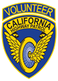 CHP Volunteer Patch