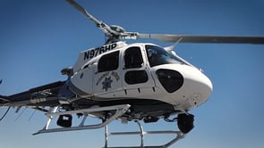 Picture of a CHP Helicopter